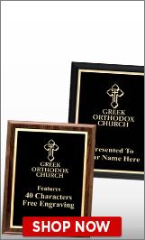 Greek Orthodox Church Plaques