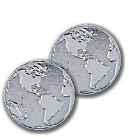Globe Recognition Coin