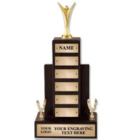 U-Sports Walnut Perpetual Trophies