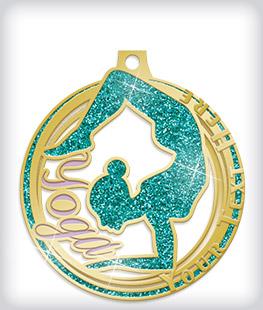 Glitter Custom Logo Medals