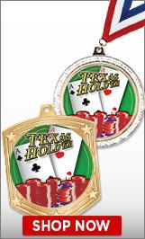 Poker Medals