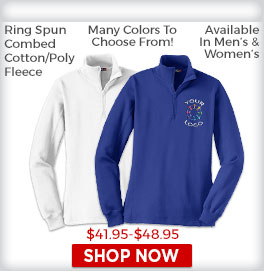 Zip Fleece Sweatshirts