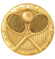 "2"" Tennis Blaze Medals"