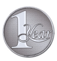 1 Year Recognition Coin