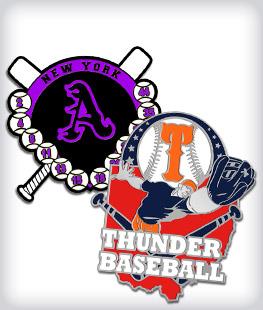 Custom Baseball Trading Pins