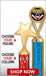 Pinball Column Trophies