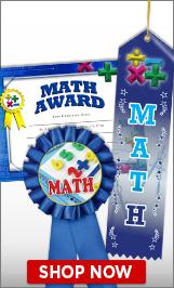 Math Certificates & Ribbons