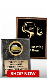 Antique Car Shows Plaques