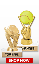 Softball Trophies