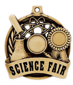 "2"" Science Fair Medal"