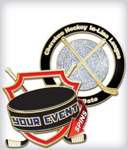 Custom Specialty Hockey Pins