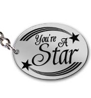 Youre A Star Keychains