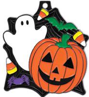 "2"" Halloween Medal"