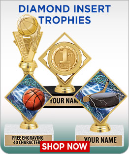 Diamond Insert Trophies