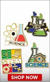 Science Fair Pins