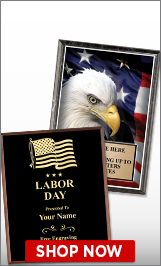 Labor Day Plaques