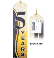 5 Year Recognition Ribbon