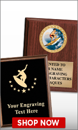 Surfing Plaques
