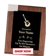 Guitar Plaques