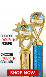 Sandcastle Building Column Trophies