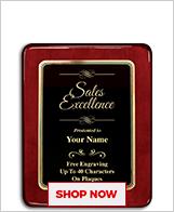 Sales Awards Plaque