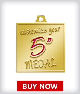 """Custom 5"""" Medal"""