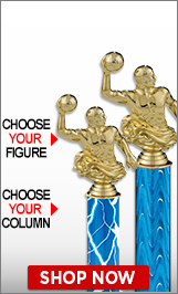 Water Polo Column Trophies