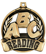 "2"" Reading Achievement Medals"