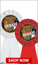 Debate Ribbons