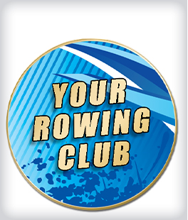 Custom Printed Rowing Pins