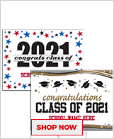 Class Of 2021 Signs