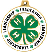 "2"" 4-H Leadership Rimz Medal"