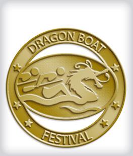 Custom No Color Dragon Boat Pins