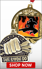 Taekwondo Medals