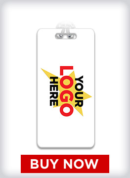 Custom ID Bag Tag With Your Logo