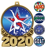 "3"" 2020 Double Action 2.0 Medals"
