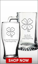 St. Patrick's Day Glassware
