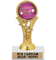 "5 1/2"" Starbeam Insert Trophy"