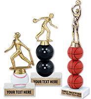 "7"" - 11"" Extreme Sport Trophies"
