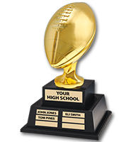 Jumbo Perpetual Football Trophy