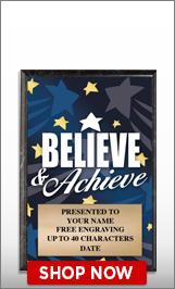 Achievement Awards Plaque
