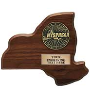 NYSPHSAA Replica Plaque