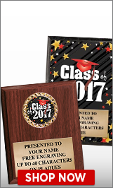 Class Of 2017 Plaques