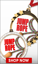 Jump Rope Medals