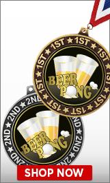 Beer Pong Medals