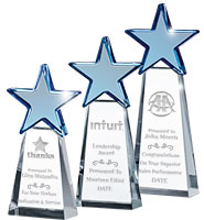 Sapphire Dynostar Crystal Award