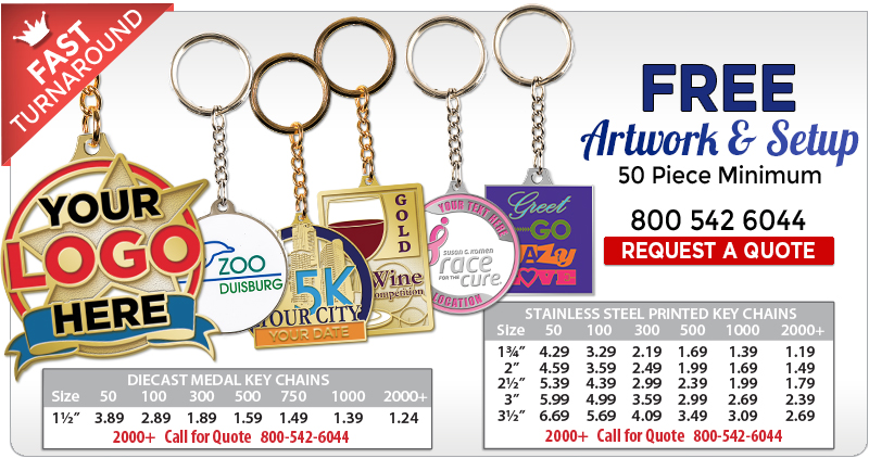 Customize Key Chains 