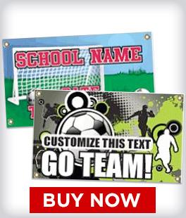 Custom Soccer Banners