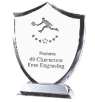 Honor Shield Crystal Award