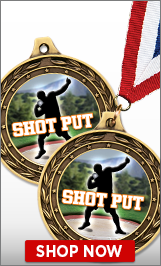 Shot Put Medal
